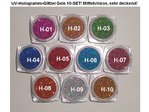 UV Gel, Glitzergel, ab 1,29 €